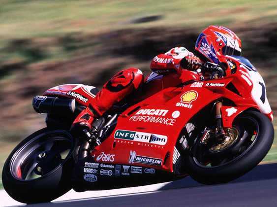 SBK 1999 Carl Fogarty
