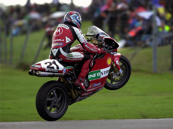 SBK 2001 Troy Bayliss